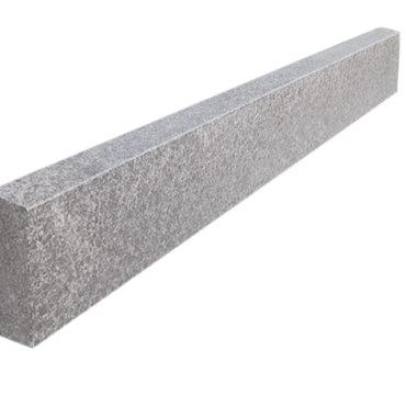 Granite board 5x15x100 cm Dark Grey