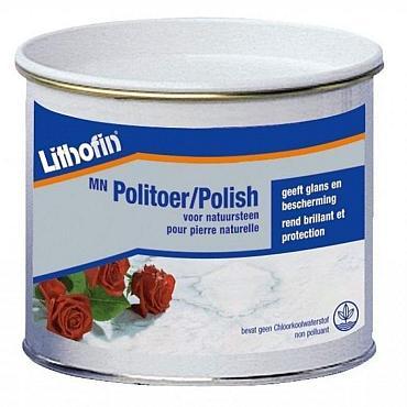 Mn Politoer Creme Zwart 500 ml