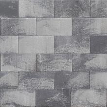Roccia Strak 30x12x12 cm grijs/zwart