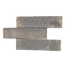 Patioblok strak 60x15x15 cm bruin/zwart