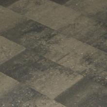 MB Vlakstone 20x30x6 grijs/zwart genuanc